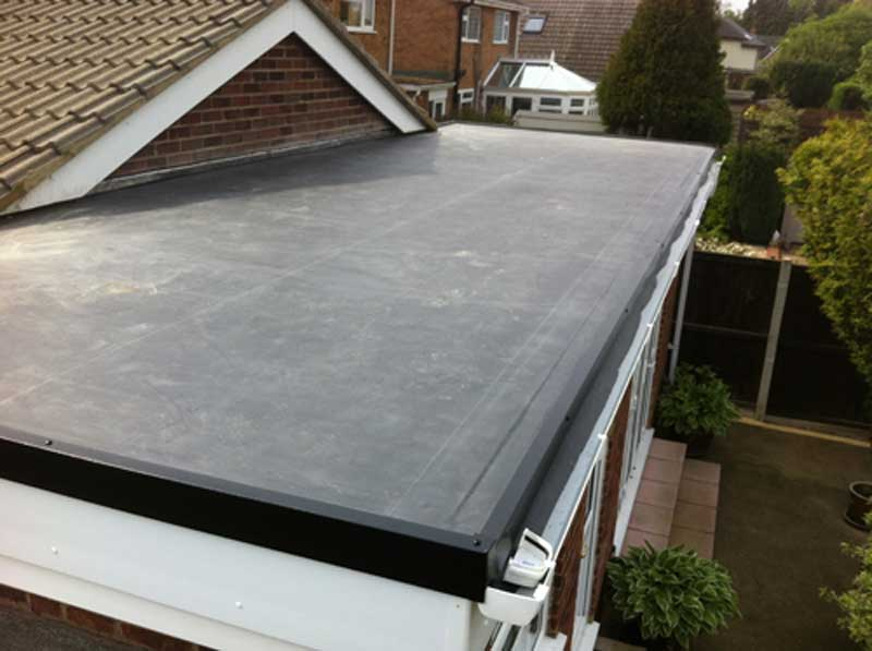 EPDM Rubber roof services bolton