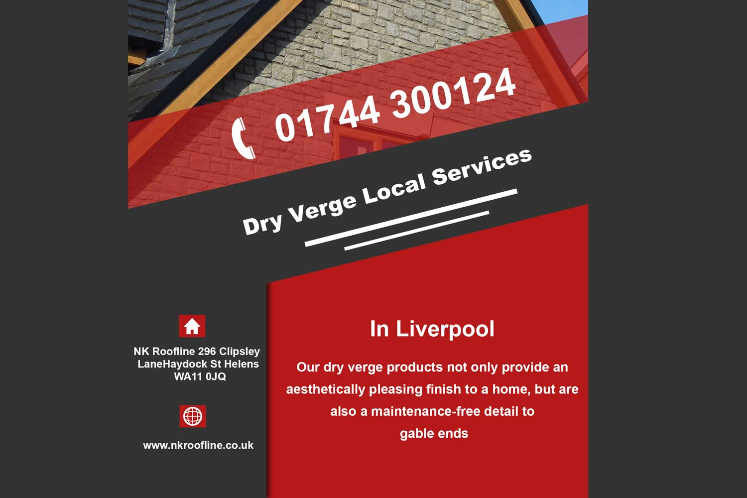 Local dry verge products Liverpool